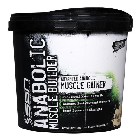 SSN Anabolic Muscle Builder,  11 lb  Vanilla