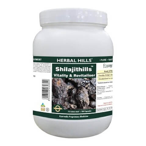 Herbal Hills Shilajithills,  700 capsules