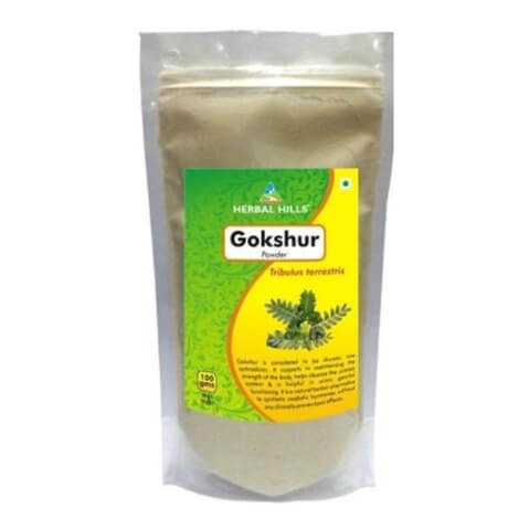 Herbal Hills Gokshur Powder,  0.3 kg