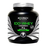 Six Pack Nutrition 100% Whey,  4.4 Lb  Strawberry