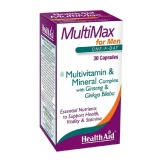 HealthAid MultiMax For Men,  Unflavoured  30 Capsules
