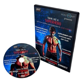 Insane Super Hero Workout DVD