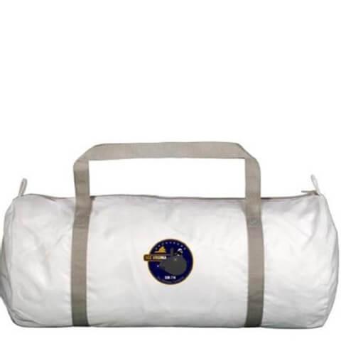 SSN Gym Bag,  White  Standard