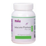 Zenith Nutrition Mucuna Pruriens Plus (200 Mg),  120 Capsules
