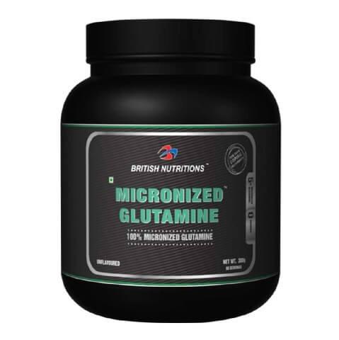 British Nutritions Micronized Glutamine,  0.66 lb  Unflavoured
