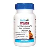 Healthvit Vita-Kid Multivitamin for Kids,  Unflavoured  60 chewable tablet(s)