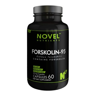 Novel Nutrients Forskolin 95 (25mg),  60 capsules  Unflavoured