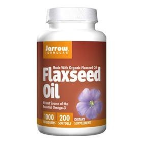 Jarrow Formulas Flaxseed Oil (1000mg),  200 softgels