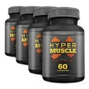 WOW Hyper Muscle X (Pack of 4),  240 capsules  Unflavoured