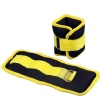 B Fit USA Ankle/Wrist Weight (AB3742),  Yellow & Black  1 kg
