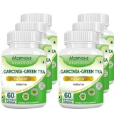 Morpheme Remedies Garcinia-Green Tea (500 Mg),  60 Veggie Capsule(s)  Unflavoured (Pack Of 6)