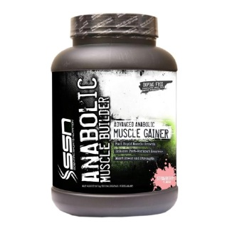 SSN Anabolic Muscle Builder,  5.5 lb  Strawberry