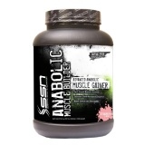 SSN Anabolic Muscle Builder,  Strawberry  5.5 lb