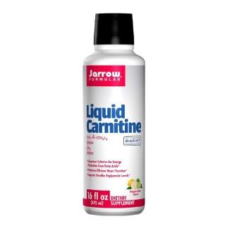 Jarrow Formulas Liquid Carnitine (1000mg),  0.48 L  Lemon Lime
