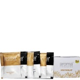 Aroma Treasures Golden Glow Facial Kit,  6 Piece(s)/Pack  Single Time Use