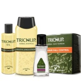 Trichup Hair Spa Kit,  Oil,Powder,Lotion &Shampoo  4 Piece(s)/Pack