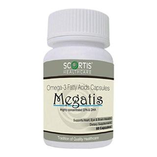 Scortis Omega 3 Fatty Acids - Megatis,  60 capsules