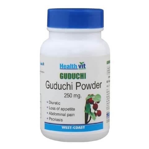 Healthvit Guduchi powder,  60 capsules