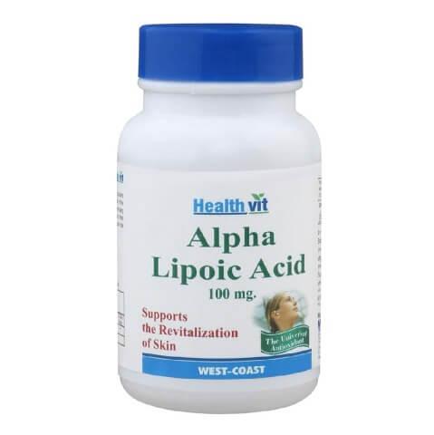 Healthvit Alphs Lipoic Acid (100 mg),  60 tablet(s)