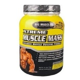 Big Muscle Xtreme Muscle Mass,  Strawberry  2 Lb