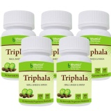 Bhumija Triphala (Pack Of Five),  60 Capsules