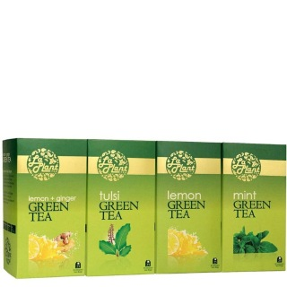 Laplant Green Tea Pack,  100 Piece(s)/Pack  Combo 6 (Lemon, Tulsi, Mint & Lemon-Ginger)