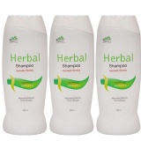 Jain Herbal Shampoo (Pack Of 3),  200 Ml  For All Hair Types