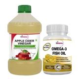 St.Botanica Omega 3 Fish Oil + Apple Cider Vinegar,  2 Piece(s)/Pack