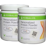Herbalife Personalized Protein Powder Pack Of 2,  0.44 Lb  Unflavoured
