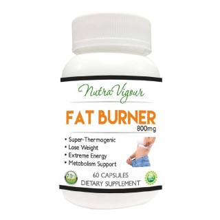 Nutra Vigour Fat Burner (800mg),  60 capsules  Unflavoured