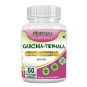 Morpheme Remedies Garcinia-Triphala,  60 capsules  Unflavoured