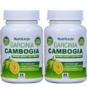 NutriLeon Garcinia Cambogia (Pack of 2),  60 capsules