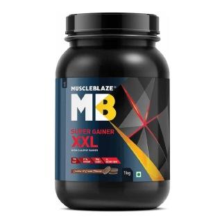 6 - MuscleBlaze Super Gainer XXL,  2.2 lb  Cookies & Cream