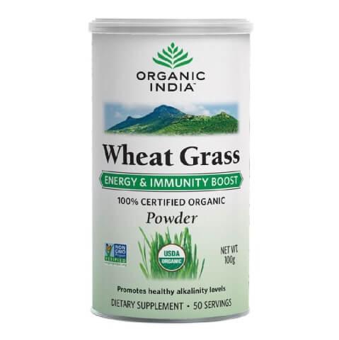 Organic India Wheat Grass Powder,  Unflavoured  100 g