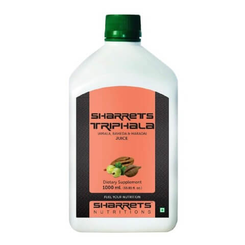 Sharrets Triphala Juice,  Natural  1 L