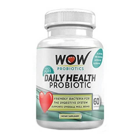 WOW Daily Health Probiotic,  60 capsules
