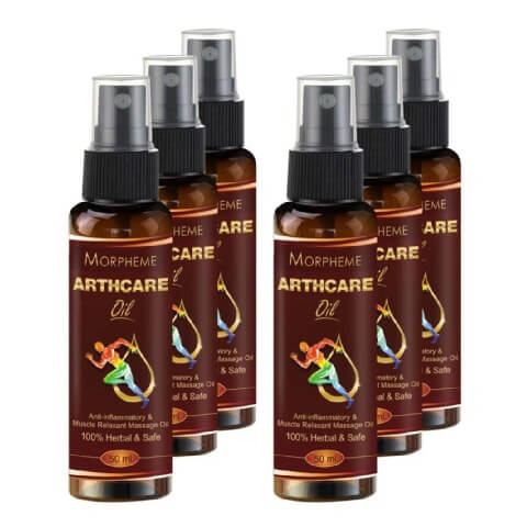 Morpheme Remedies Arthcare Oil With Spray (Pack of 6),  50 ml