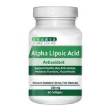 Svaasa Alpha Lipoic Acid,  60 Softgels