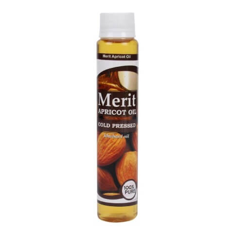 Merit Apricot Oil,  100 ml  Skin & Hair Treatment