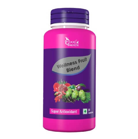 Good Health Wellness Fruit Blend,  60 capsules
