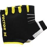 Vector X 580 Fitness Gloves,  Black & Yellow  Medium