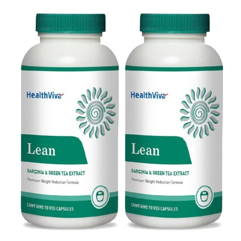 HealthViva Lean (Garcinia & Green Tea) - Pack of 2