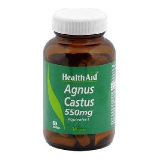 HealthAid Agnus Castus (550mg),  60 tablet(s)