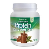 HealthViva All Plant & Milk Protein,  2.2 Lb  Chocolate