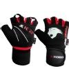 KOBO Gym Gloves (WTG-08),  Black & Red  Large