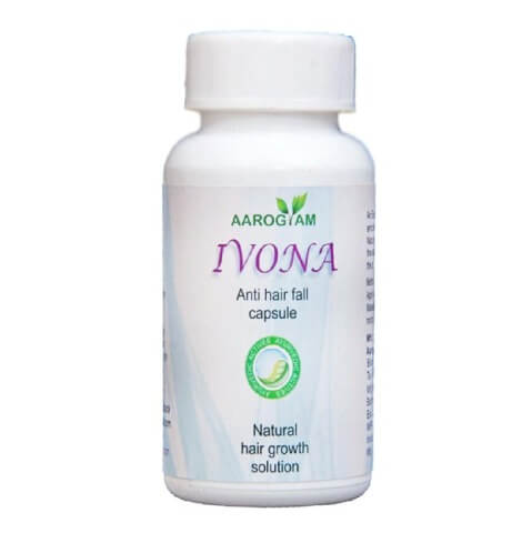 Aarogyam Ivona Anti Hair Fall Capsule,  Unflavoured  60 capsules