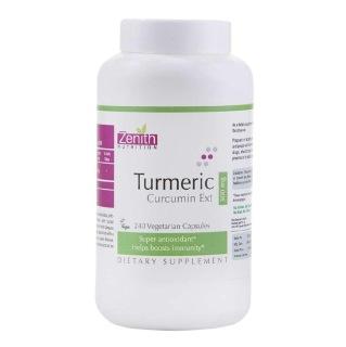 Zenith Nutrition Turmeric Curcumin Ext (300 mg),  240 capsules