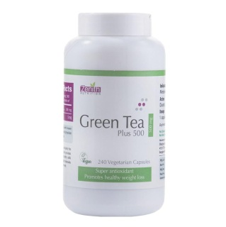 Zenith Nutrition Green Tea Plus (500 mg),  240 capsules  Unflavoured