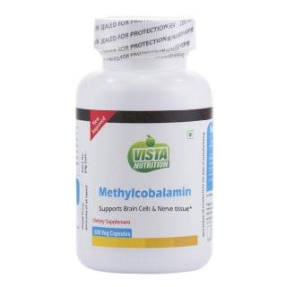 Vista Nutrition Methylcobalamin,  Unflavoured  100 capsules