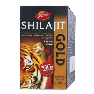 Dabur Shilajit Gold, 20 capsules available at Healthkart for Rs.390